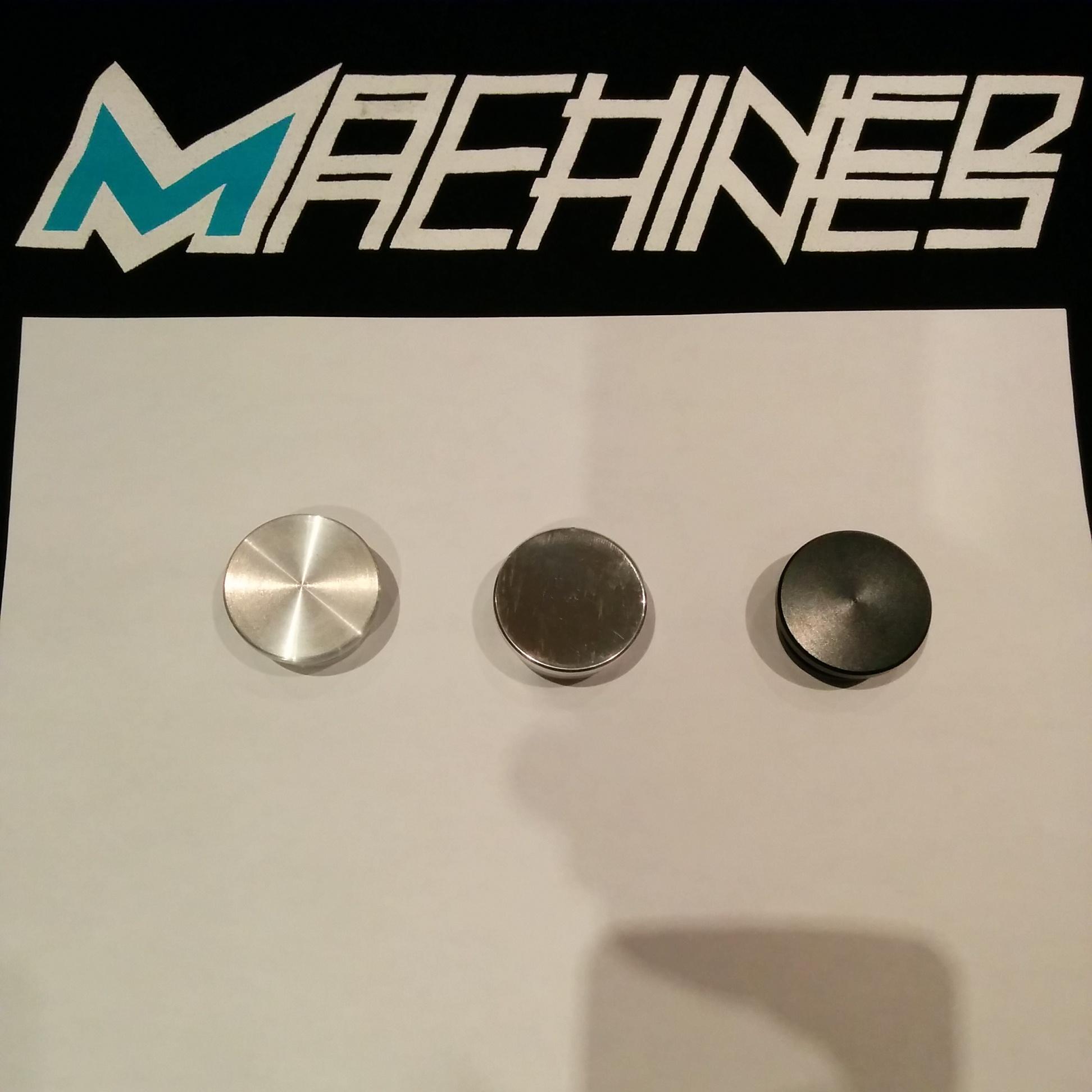 Frame Caps - Ruckus v.1 - Machined MachinesMachined Machines