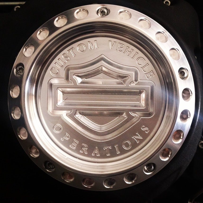 Cvo Road Glide >> Harley Davidson Derby Cover - CVO - Machined ...